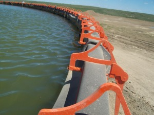 Frac Water Tank Safety Clamp
